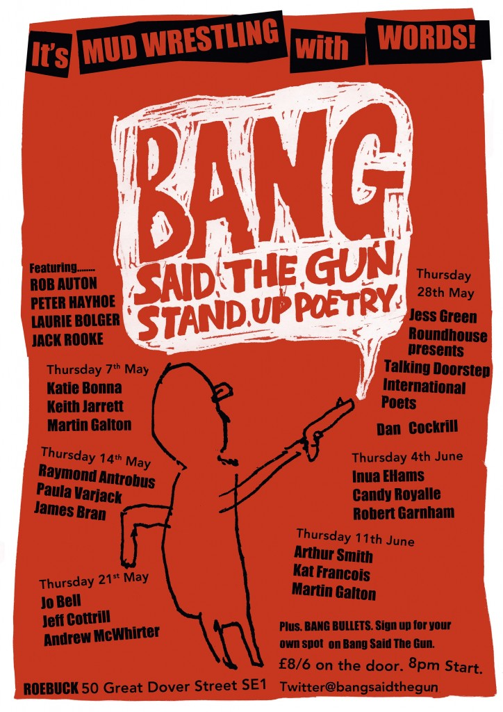 Bang Said The Gun May(a)